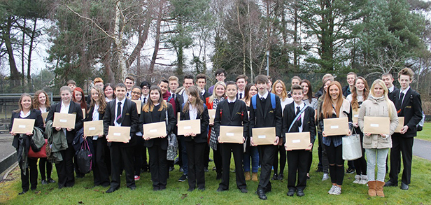 Ferndown Upper School students