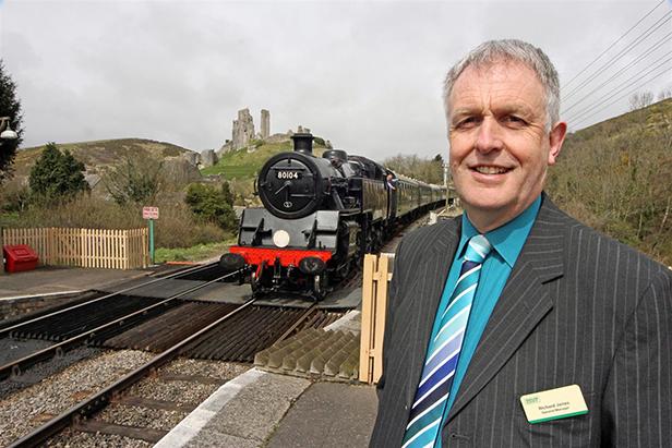 Swanage Railway general manager Richard Jones
