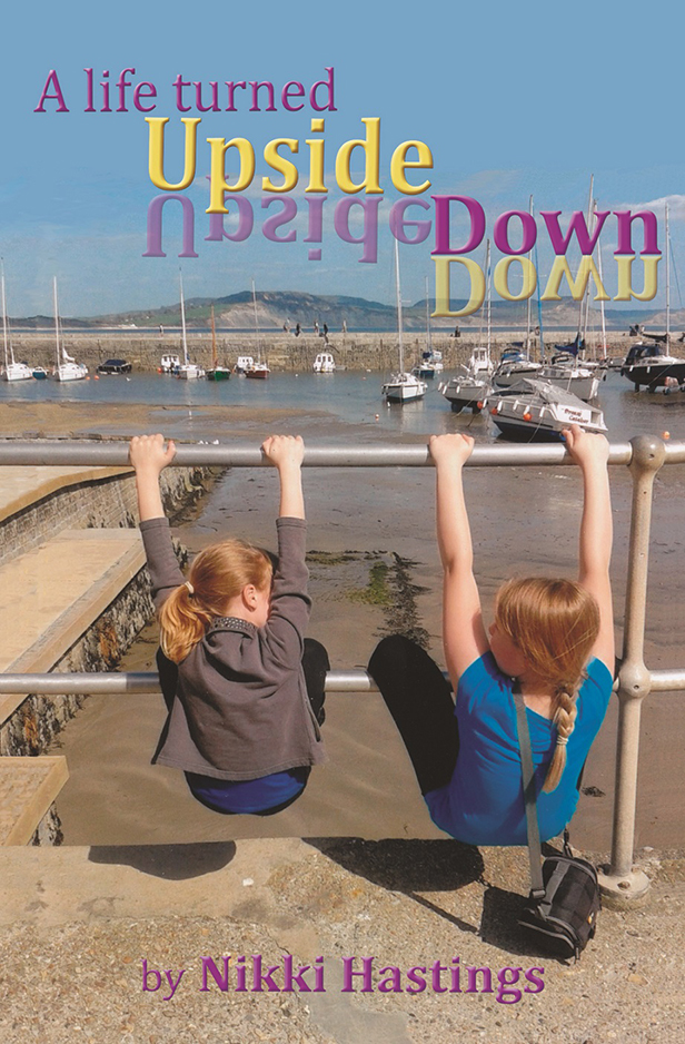 A life turned Upside Down front cover