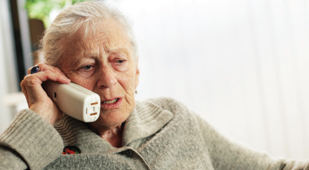 Photo of women speaking on the phone