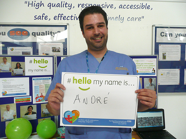 Hello my name is Andre - emergency department nurse