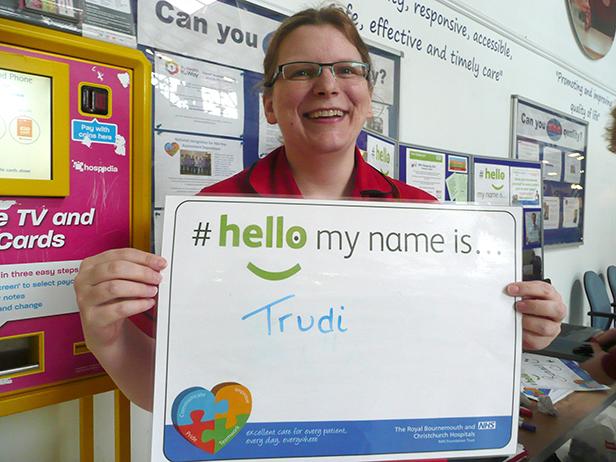 Hello my name is Trudi - Matron - Older Persons Medicine