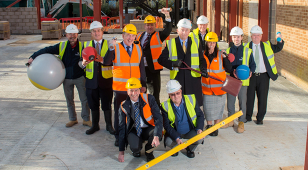 Littledown Centre building milestones reached