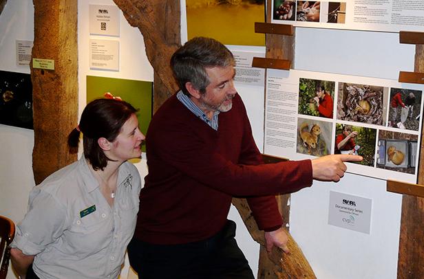 Documentary wildlife photographer Nick Upton