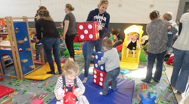 Soft play at the Heatherlands centre