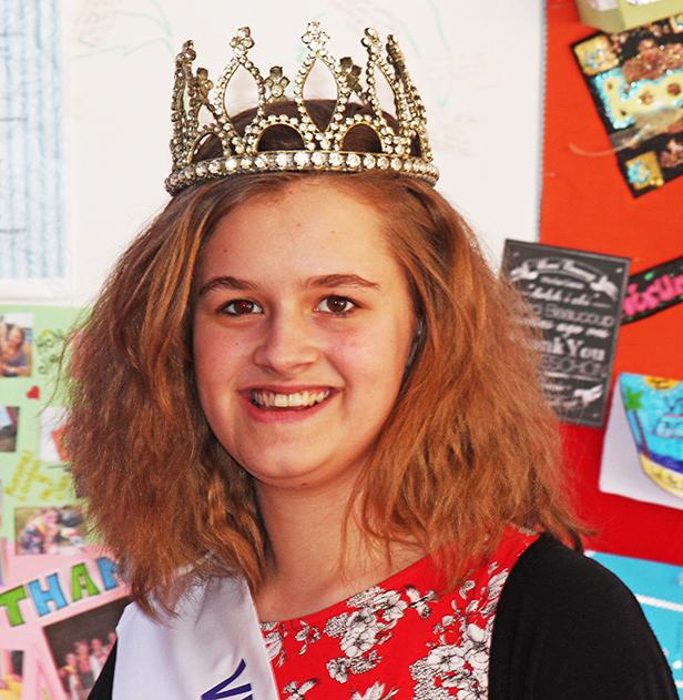 Bethany Larry Verwood Carnival Queen 2015