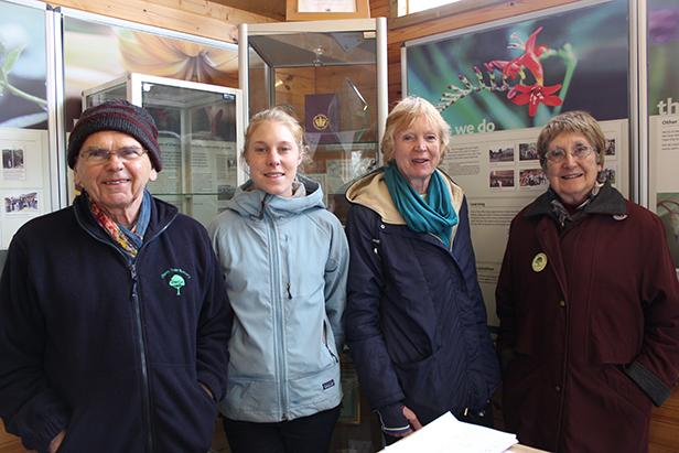 Friends of Cherry Tree Nursery, l-r Ray Gibbs, Sophie Hoff, Shirley Herrington and Joyce Buddell