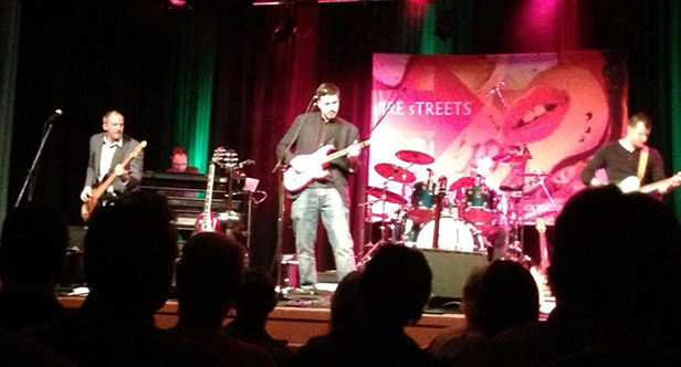 Dire Streets performing at the Barrington Theatre