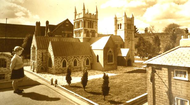 Topsy Small at Wimborne Model Town circa 1955