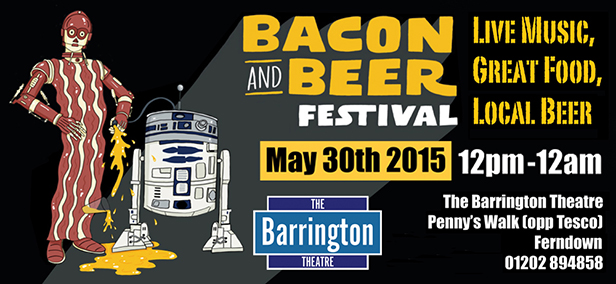 Bacon & Beer Festival banner