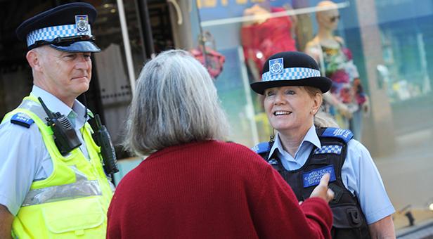 Top cop Dorset