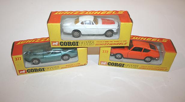 Corgi toys Whizzwheels