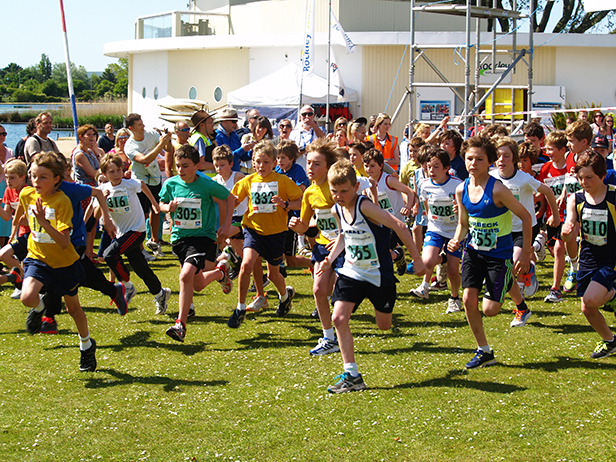 Poole Park - festival of running