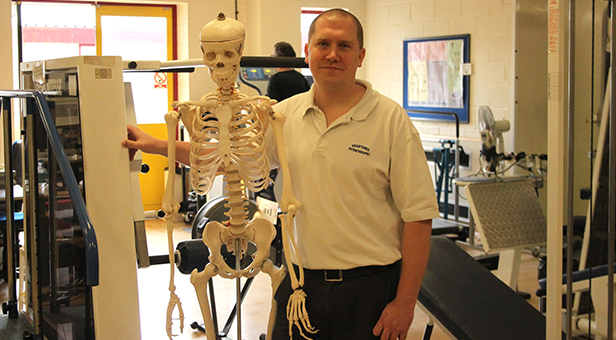 Matthew Low, Lead Clinician Musculoskeletal Physiotherapist