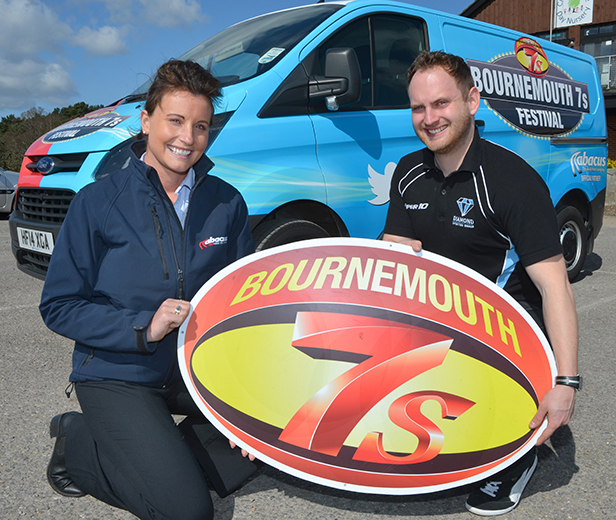 Bournemouth 7s Festival vehicle