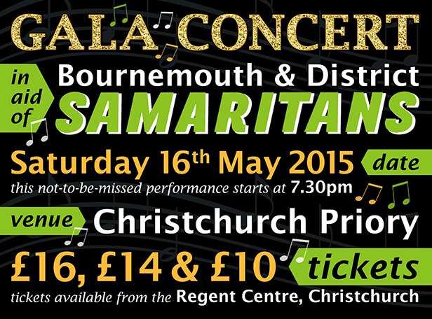 Bournemouth & District Samaritans Gala Concert
