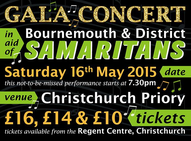Bournemouth & District Samaritans Gala Concert