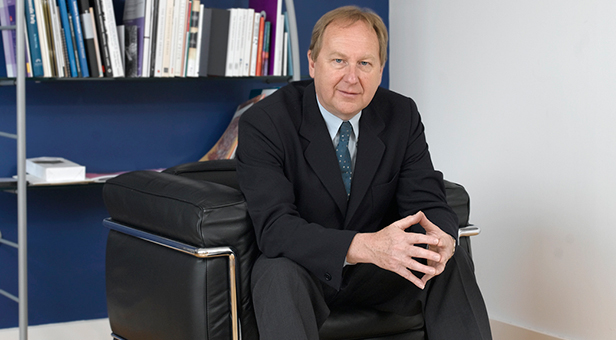 Professor Stuart Bartholomew CBE, Principal and Vice-Chancellor of the Arts University Bournemouth