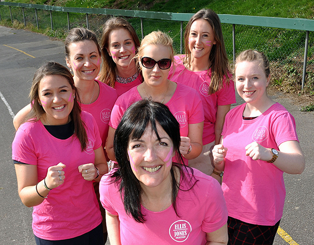 Ellis Jones Solicitors Race for Life team