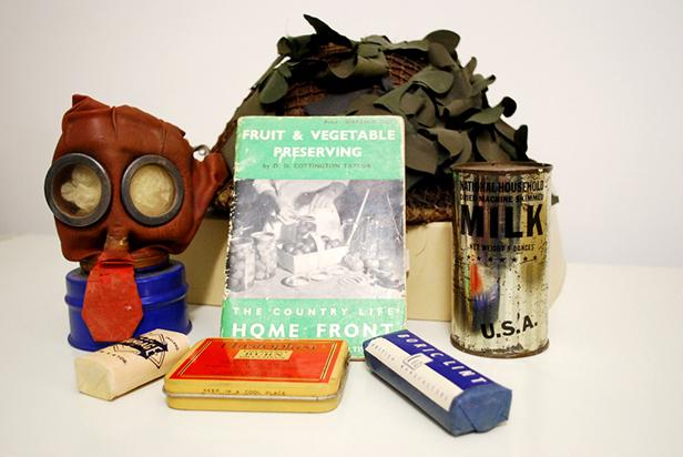 Second World War items