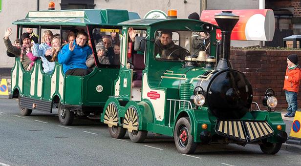 Wimborne Folk Festival land train