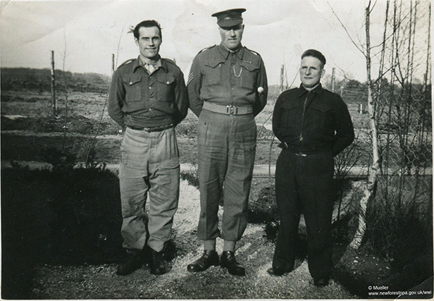 Max Mueller at Setley PoW camp