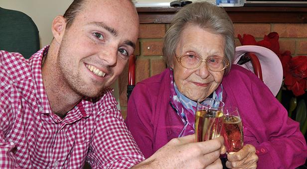 Audrey Dormon 102 years old