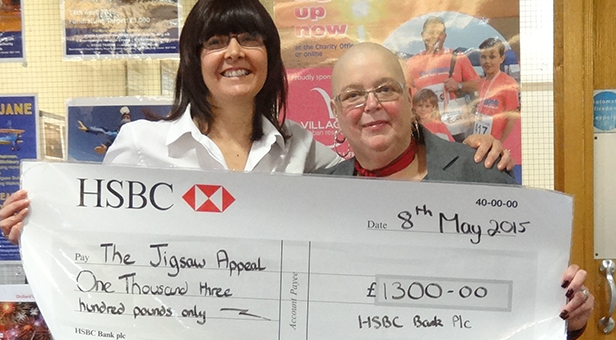 Cheque presenataion Jigsaw Appeal