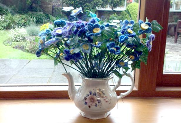 Forget-Me-Nots in vase