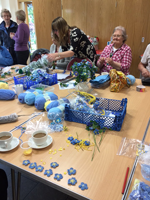 Forget-Me-Not craft session