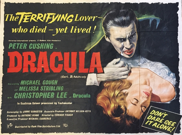 Cracula film poster