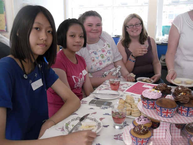 Ferndown Upper School tea party