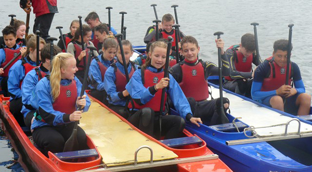 Ferndown Upper School water sports