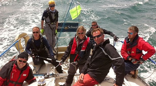 Ballard School team: Round the Island race