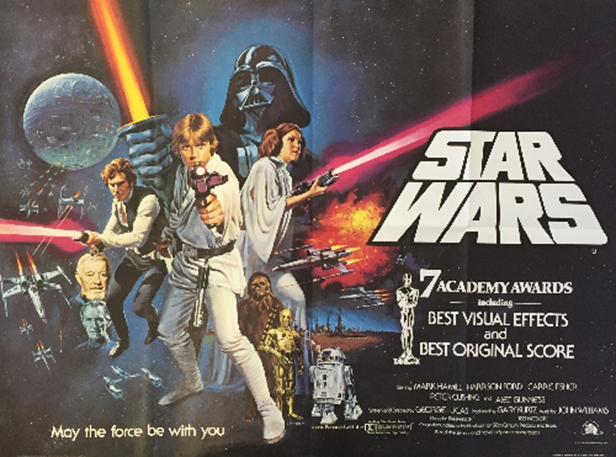 Star Wars film poster