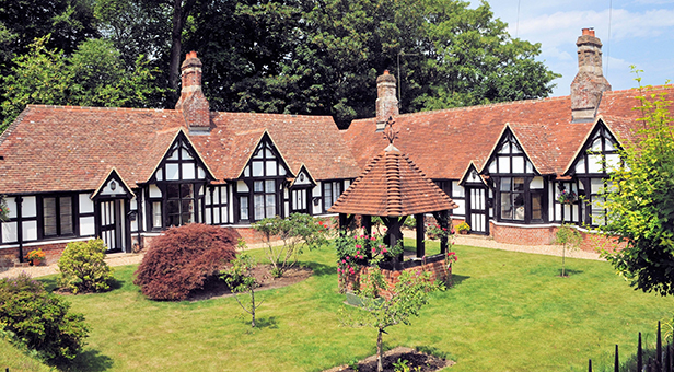 Boultbee cottages almshouses Emery Down