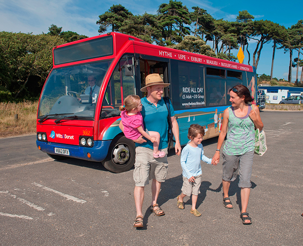 Wilts & Dorset beach bus