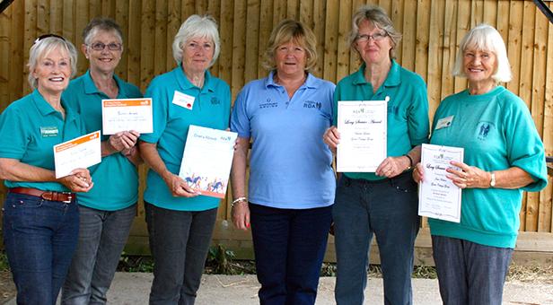 Green Cottage RDA Group volunteers