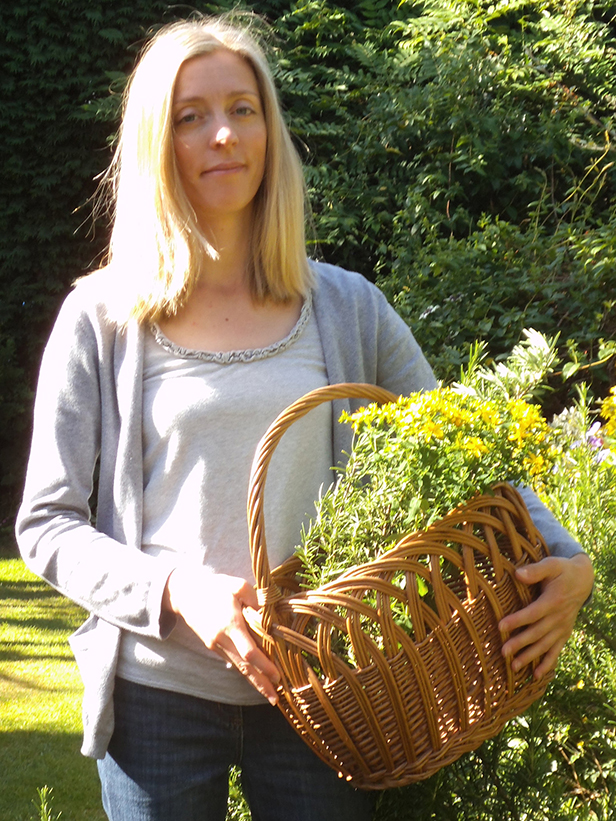 Medical herbalist Rachel Heathcote