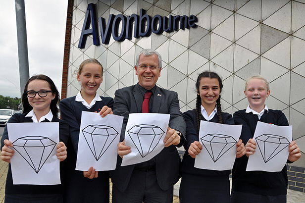 Avonbourne College celebrate the school being awarded a Diamond Cultural Diversity Quality Award