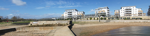 Hamworthy rail crossing, September 2013