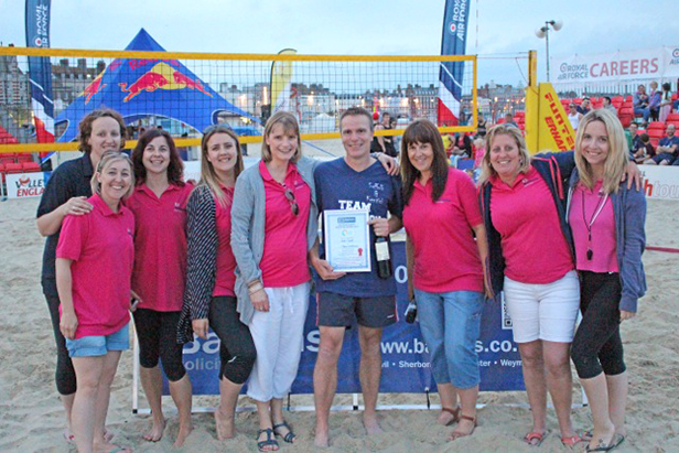 Beach Volleyball at Weymouth