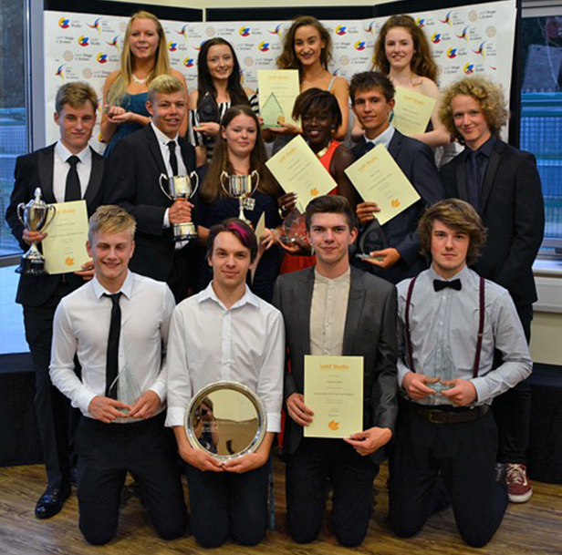 Some of the winners of the LeAF Studio Awards 2015