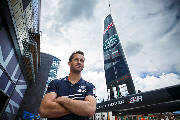 Ben Ainslie, America's Cup Sailing