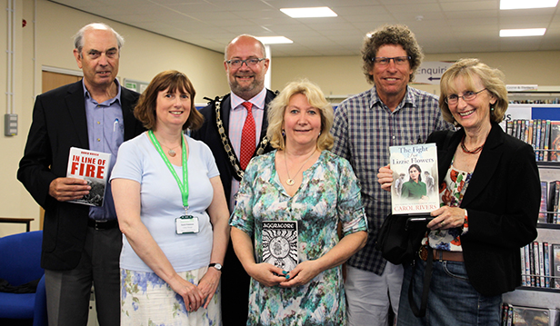 'Meet the Authors' at Ferndown Library