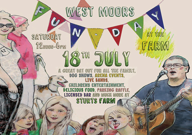 West Moors Fun Day at the Farm