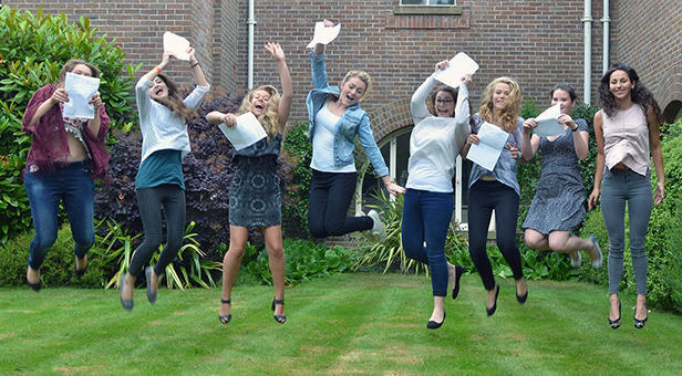 Talbot Heath sixth form students