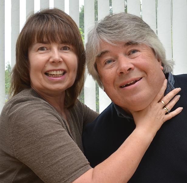Wordcaster's Teresa and Gareth John