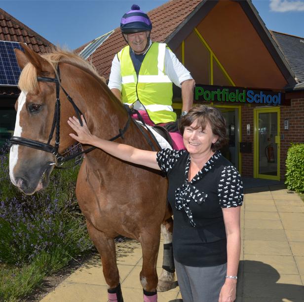 8 Hour Tri Horseathon Raises Funds For Autism Wessex