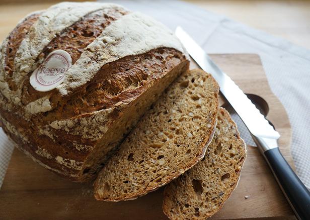 Multi-seed sourdough loaf